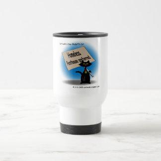 Madoff's Cat Travel Mug