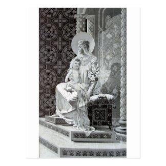 Madona con el virgo de Maria del bebé Postal