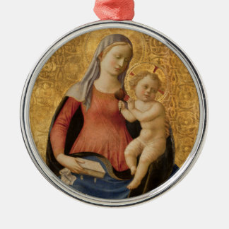 Madona of Humility Holiday Ornament