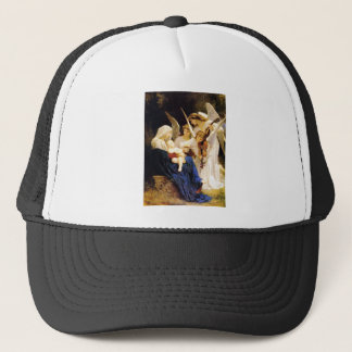 Madonna and and Three Angels Trucker Hat