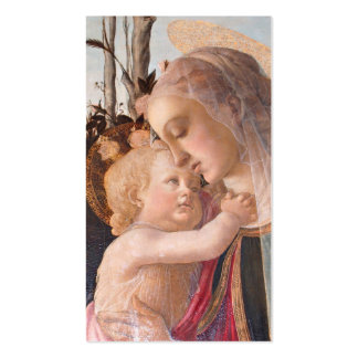 Madonna and Baby Jesus Business Card