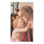 Madonna and Baby Jesus Business Card Templates