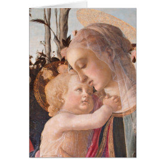 Madonna and Baby Jesus Card