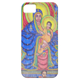 Madonna and Baby Jesus Ethiopian Art iPhone 5 Case