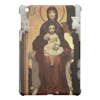 Madonna and Baby Jesus on Throne Cover For The iPad Mini