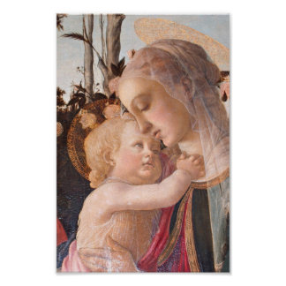 Madonna and Baby Jesus Poster