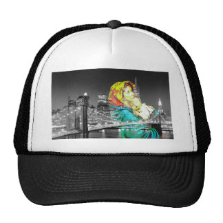 Madonna and Baby Jesus Visit New York City Trucker Hat