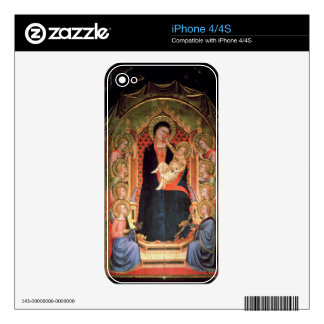 Madonna and Child, 1347 Decals For iPhone 4S