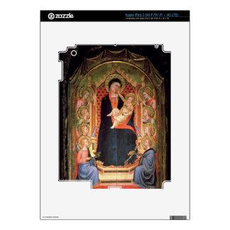 Madonna and Child, 1347 iPad 3 Skins