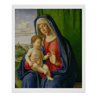Madonna and Child, 1490s Poster