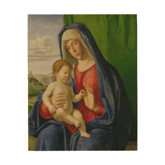 Madonna and Child, 1490s Wood Wall Art