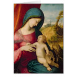 Madonna and Child, 1512-14 Card