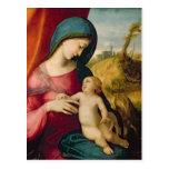 Madonna and Child, 1512-14 Postcard