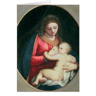 Madonna and Child, 1598 Card