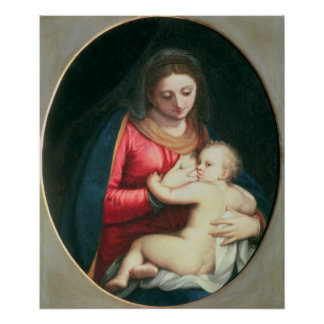 Madonna and Child, 1598 Poster