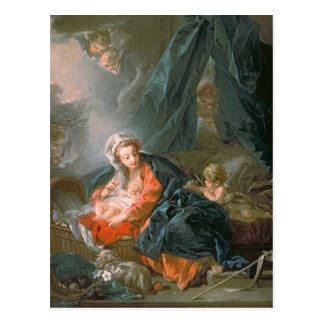 Madonna and Child, 18th century Post Cards