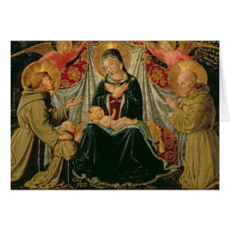 Madonna and Child 2 Greeting Card