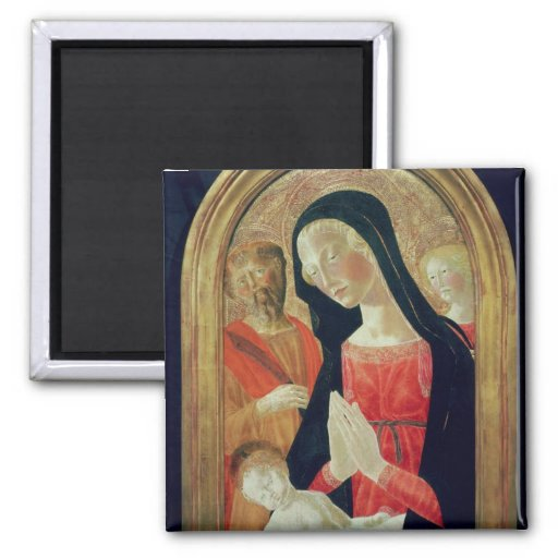 Madonna and Child 2 Inch Square Magnet