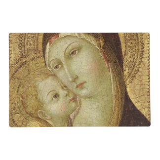 Madonna and Child 2 Laminated Place Mat