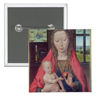 Madonna and Child 2 Pinback Button
