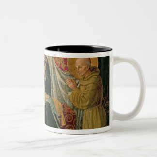 Madonna and Child 2 Two-Tone Coffee Mug