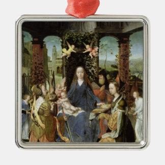 Madonna and Child 3 Christmas Tree Ornament
