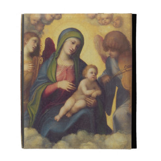 Madonna and Child and child in Glory, c.1520 (oil iPad Cases