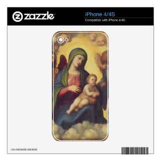 Madonna and Child and child in Glory, c.1520 (oil iPhone 4 Decals