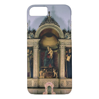 Madonna and Child and Saints (triptych altarpiece) iPhone 8/7 Case