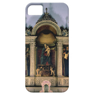 Madonna and Child and Saints (triptych altarpiece) iPhone SE/5/5s Case