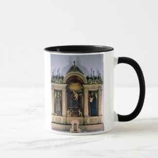 Madonna and Child and Saints (triptych altarpiece) Mug
