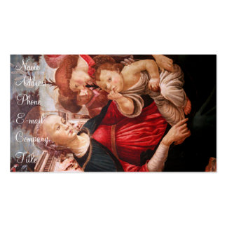 'Madonna and Child and Two Angels' Business Card
