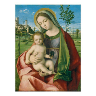 Madonna and Child Art Poster