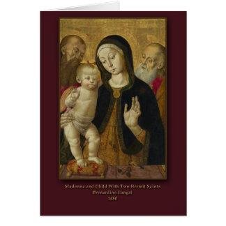 Madonna and Child B. Fungai Christmas Card