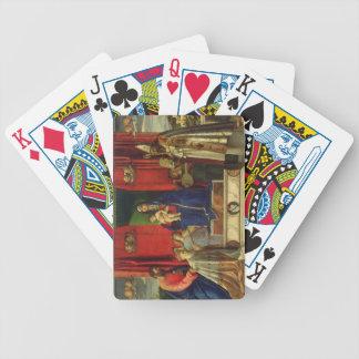 Madonna and Child (Barbarigo Altarpiece) 1488 Bicycle Playing Cards