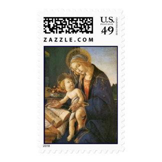 Madonna and Child Botticelli Christmas Postage