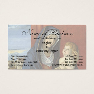 Madonna and Child by Giovanni Bellini Business Card