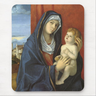 Madonna and Child by Giovanni Bellini Mouse Pad