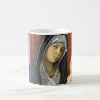 Madonna and Child by Giovanni Bellini Classic White Coffee Mug