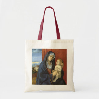Madonna and Child by Giovanni Bellini Tote Bag