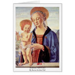 Madonna And Child  By Sarto Andrea Del Greeting Cards
