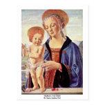 Madonna And Child  By Sarto Andrea Del Postcard