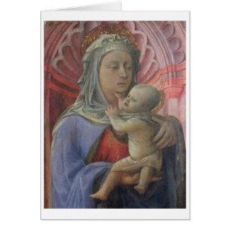 Madonna and Child, c.1430 (tempera on panel) Card