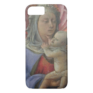 Madonna and Child, c.1430 (tempera on panel) iPhone 7 Case