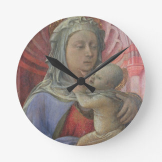 Madonna and Child, c.1430 (tempera on panel) Round Clock