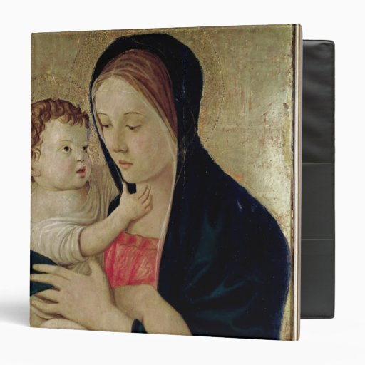 Madonna and Child, c.1475 3 Ring Binder