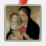Madonna and Child, c.1475 Christmas Tree Ornament