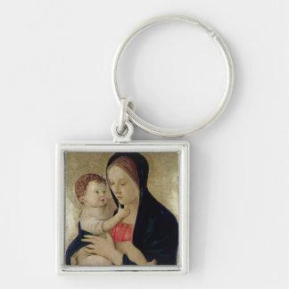 Madonna and Child, c.1475 Keychain