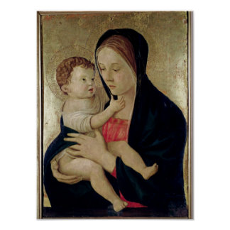 Madonna and Child, c.1475 Poster