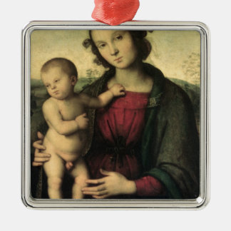 Madonna and Child, c.1495 Metal Ornament